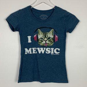 David & Goliath I Love Mewsic sz M Girls